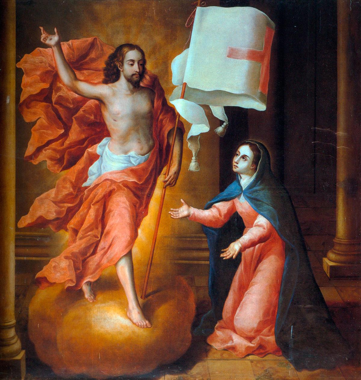 ''La Pascua de Maria'', 1698.