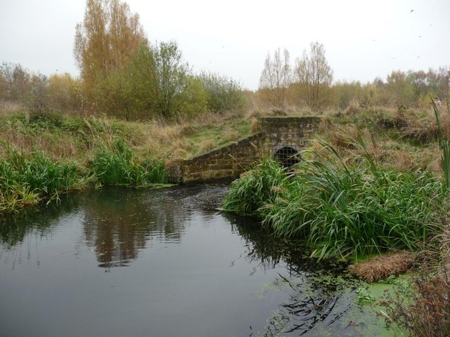Culvert on the Barnsley Canal - geograph.org.uk - 1576014
