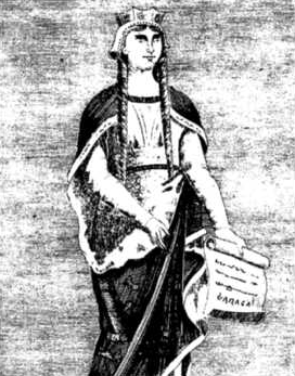 Depiction of Urraca de Zamora