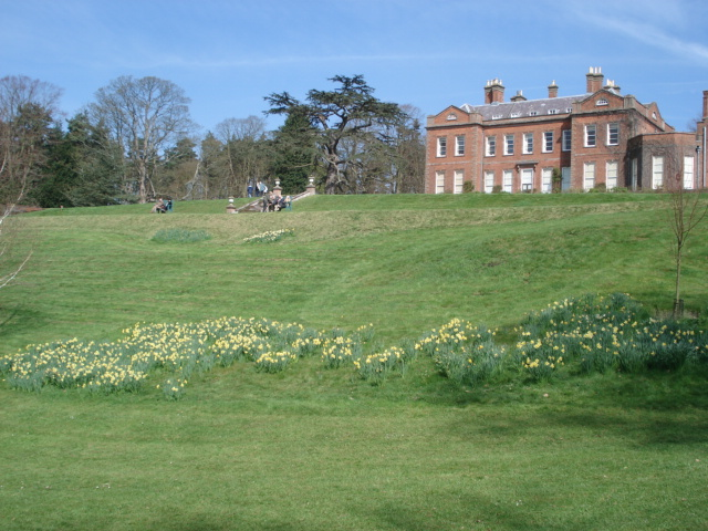 Dudmaston Hall in Spring - geograph.org.uk - 465500