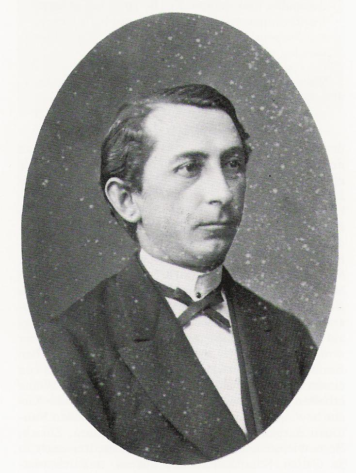 Eduard Herzog, as abt. 35 years old