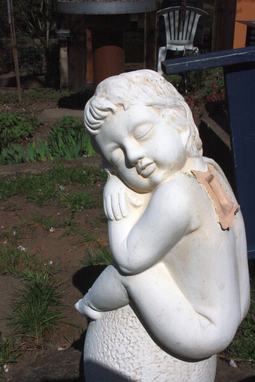 Fileein Gefallener Engel In Meinem Garten Panoramiojpg