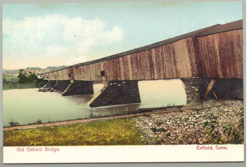 enfield u2013suffield covered bridge