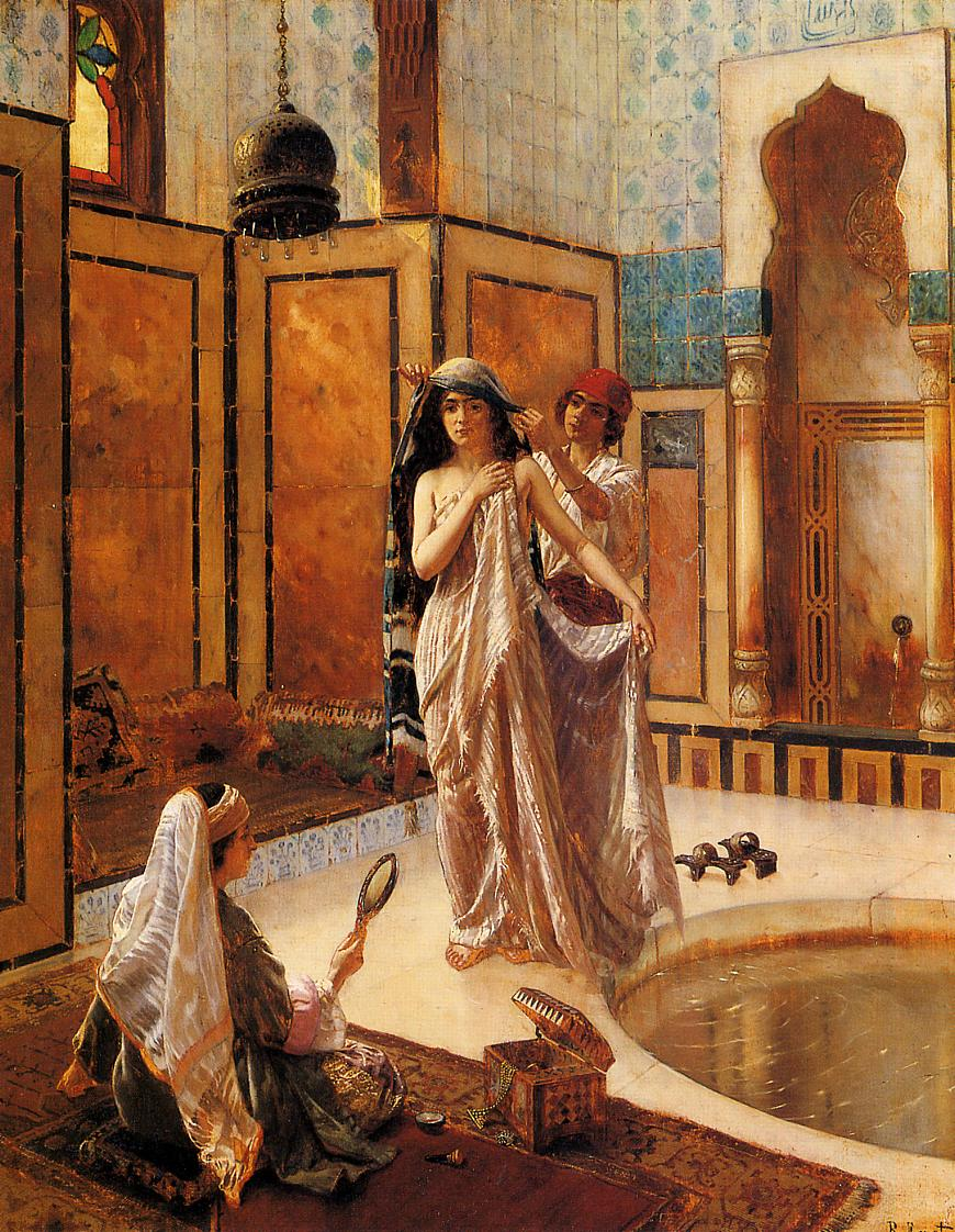 File Ernst Rudolph The Harem Bath Jpg