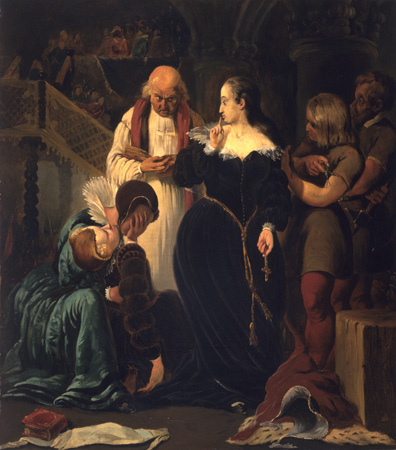 Форд Мэдокс Браун «Мария Стюарт перед казнью»