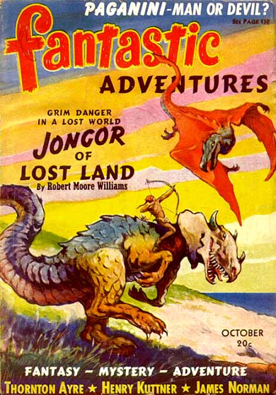 Fantastic Adventures 1940 Oct cover