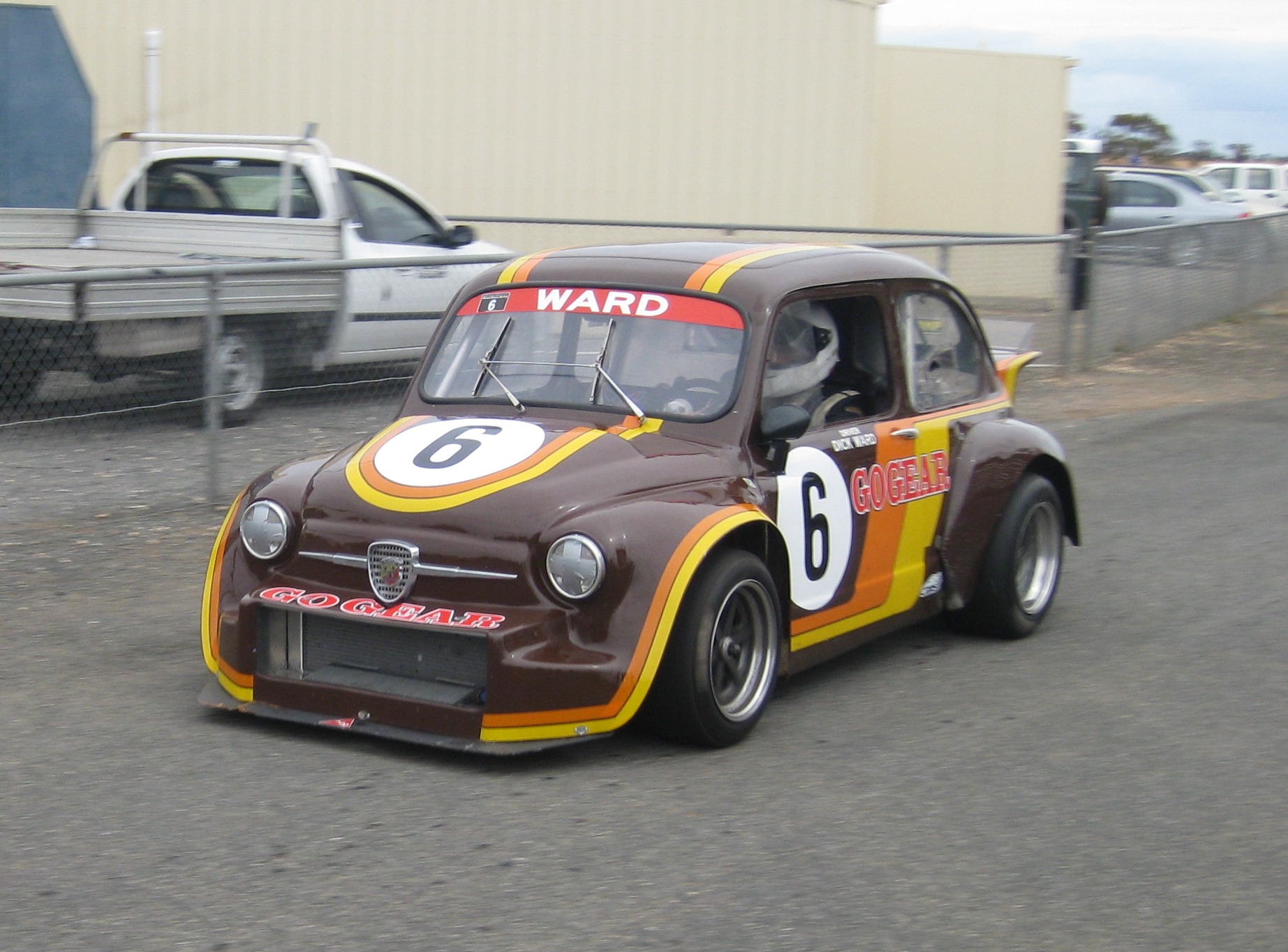 File Fiat Abarth Tcr Of Dick Ward Jpg Wikimedia Commons