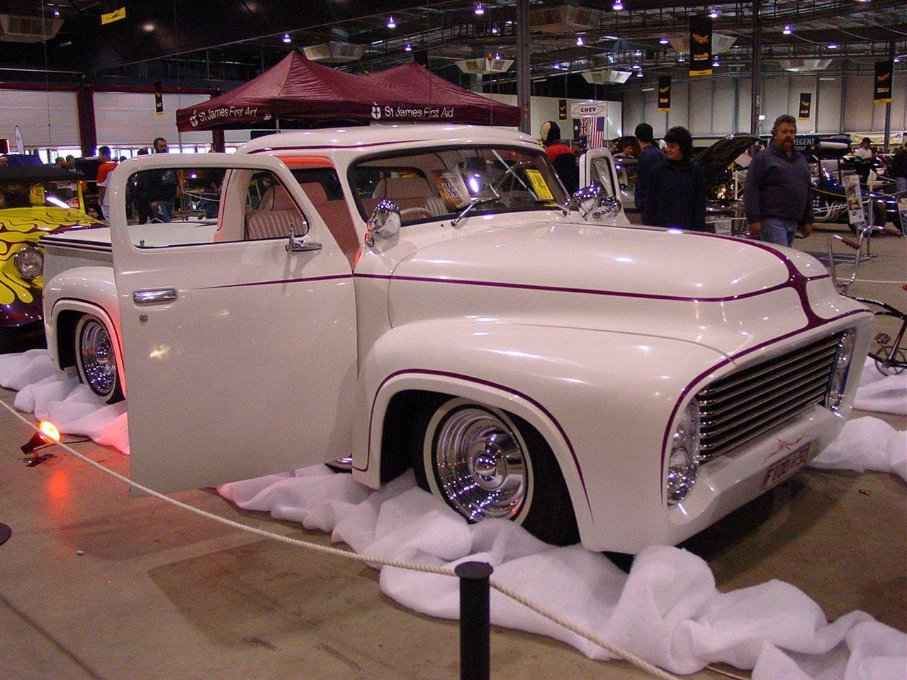 File Ford F100 Pickup Custom Hotrod 2 Jpg Wikimedia