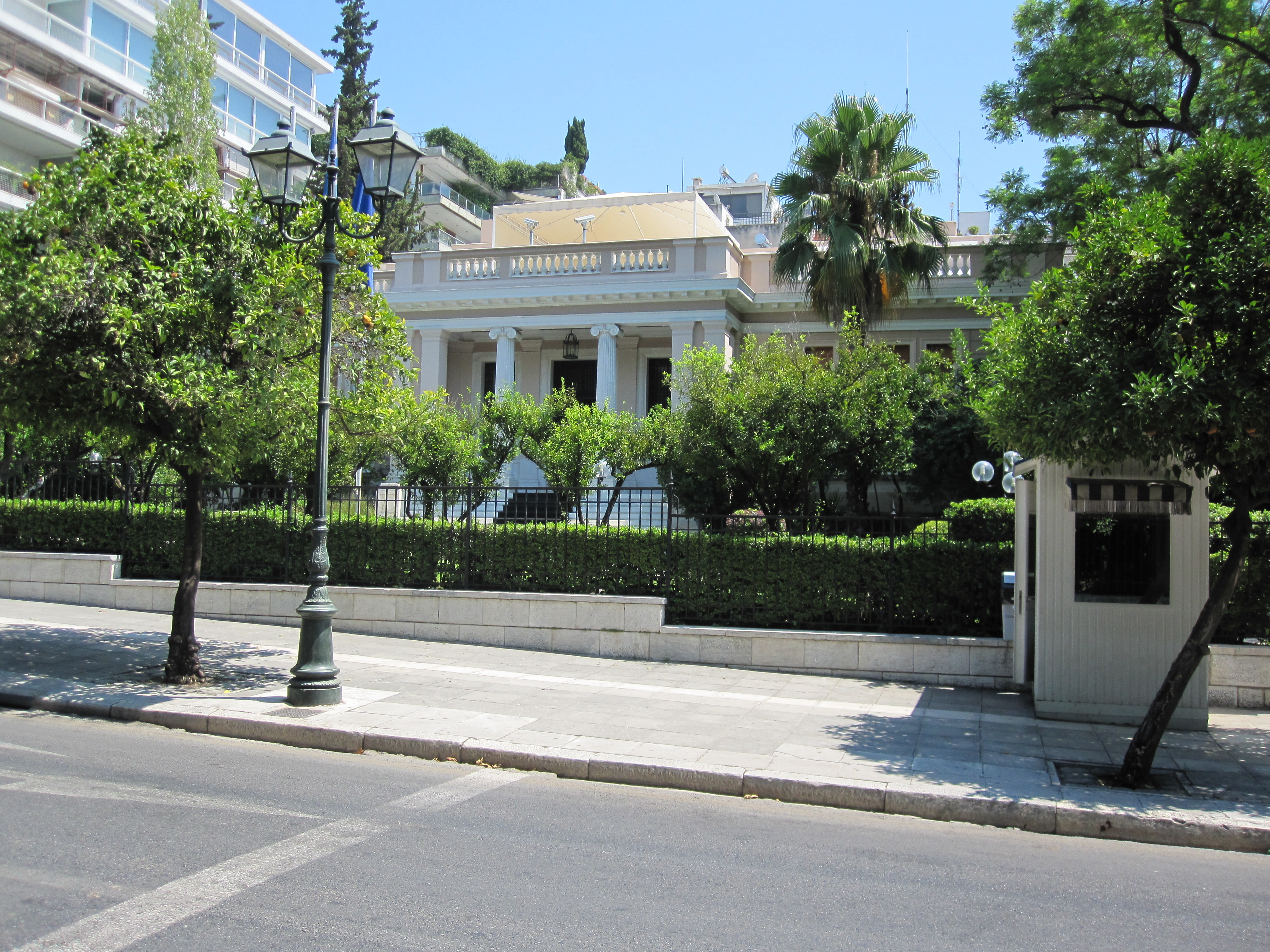 File Former Royal Palace Athens Jpg Wikimedia Commons