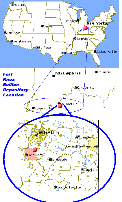 Fort Knox Bullion Depository Location