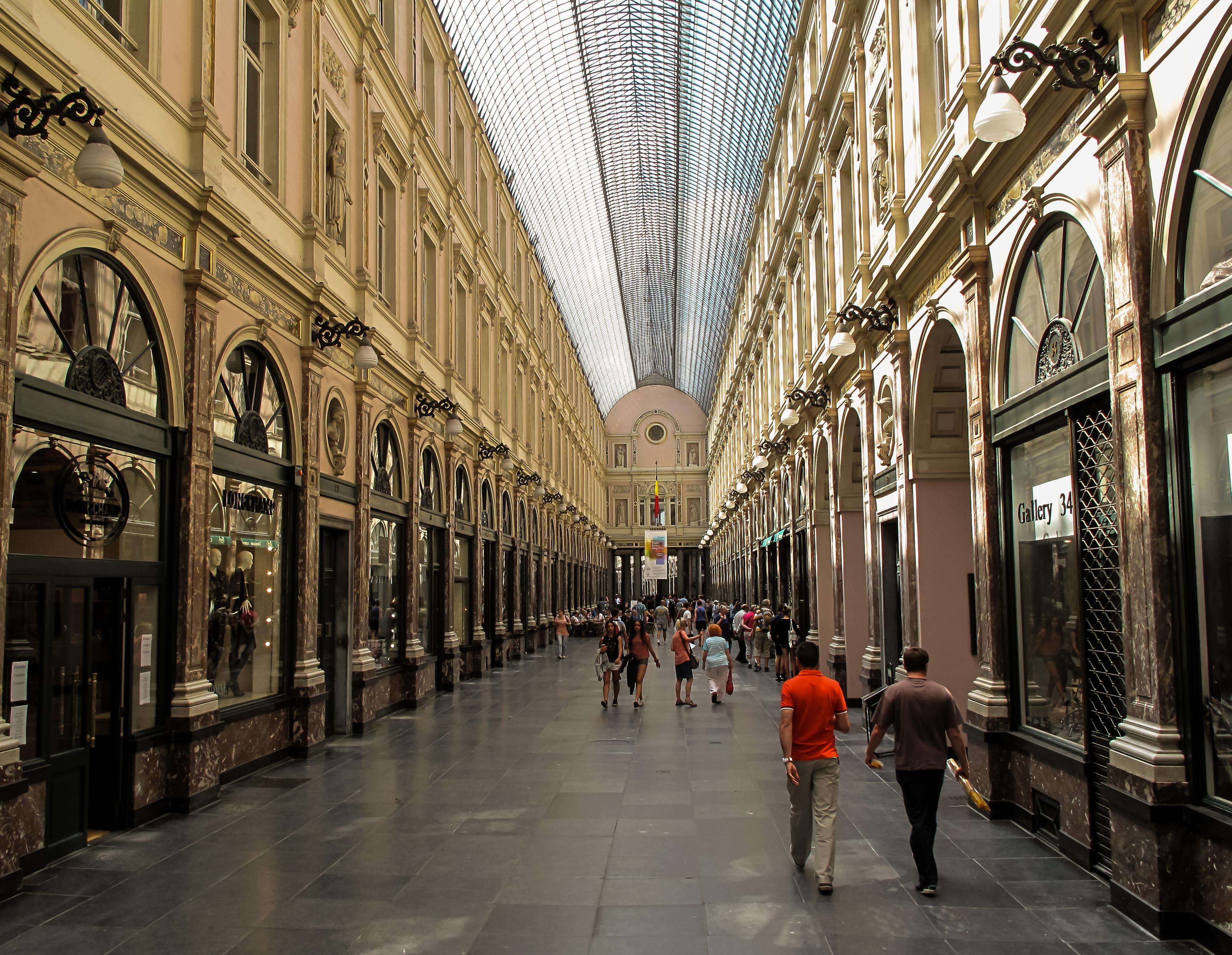 Les Galeries Saint Hubert