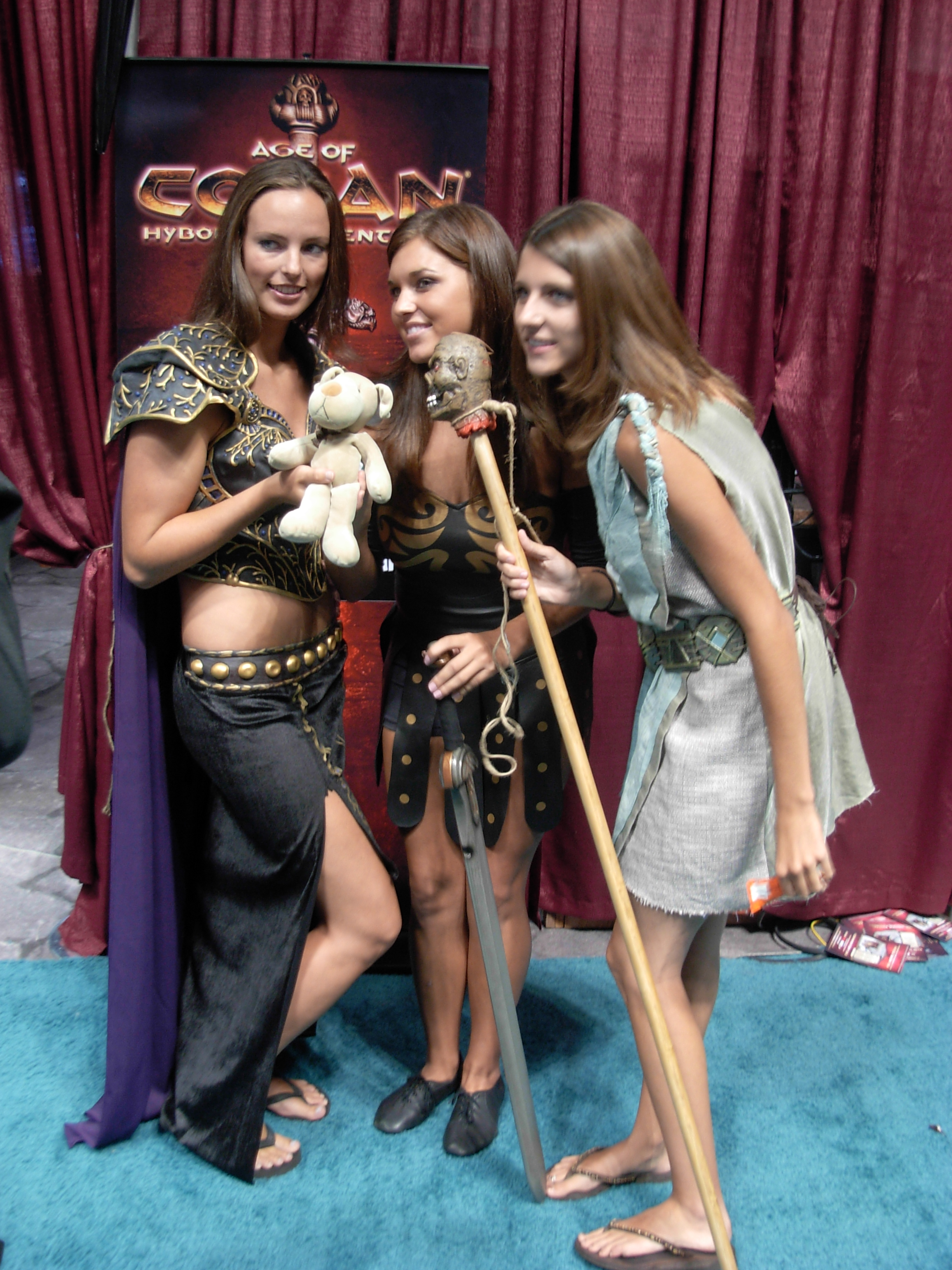 the barbarian cosplay Conan women