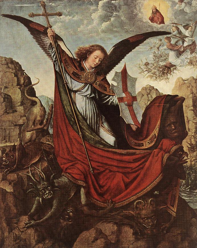 file gerard david altarpiece of st michael wga6007 jpg