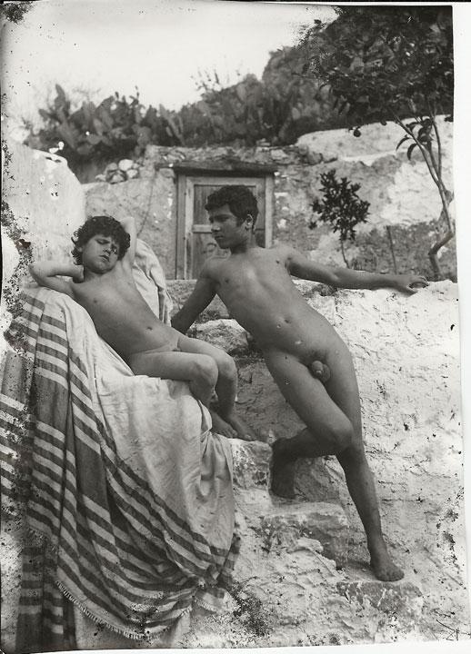public naked erections men