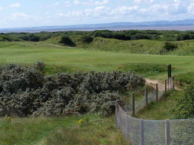 Golf Course, Berrow - geograph.org.uk - 1434700