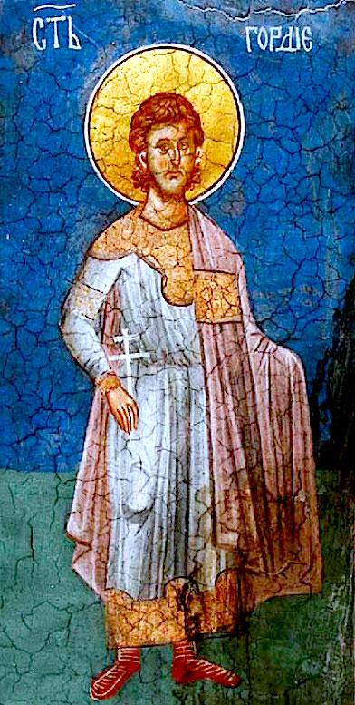 Святой мученик Гордий Каппадокийский.