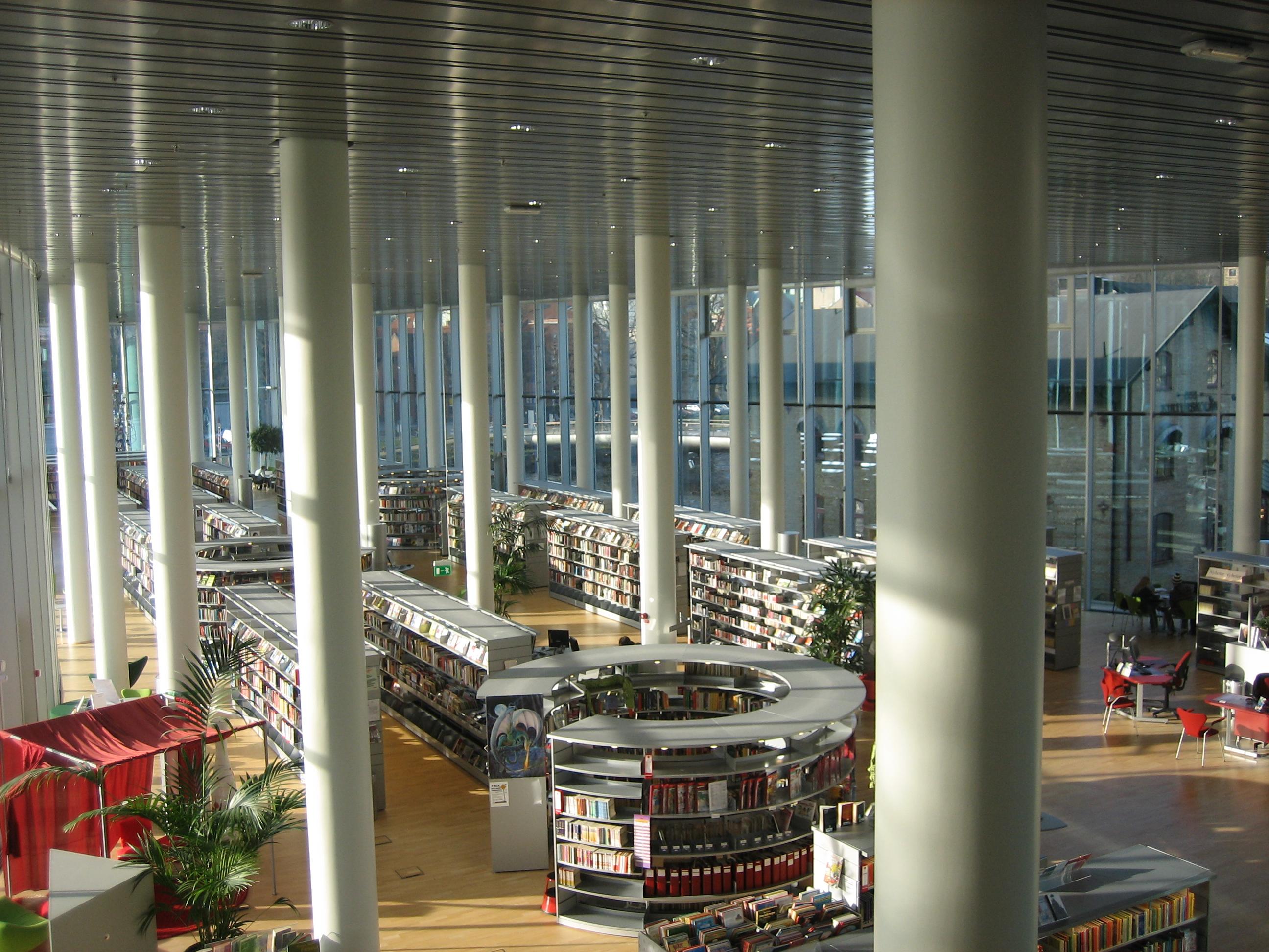 biblioteca Halmstad