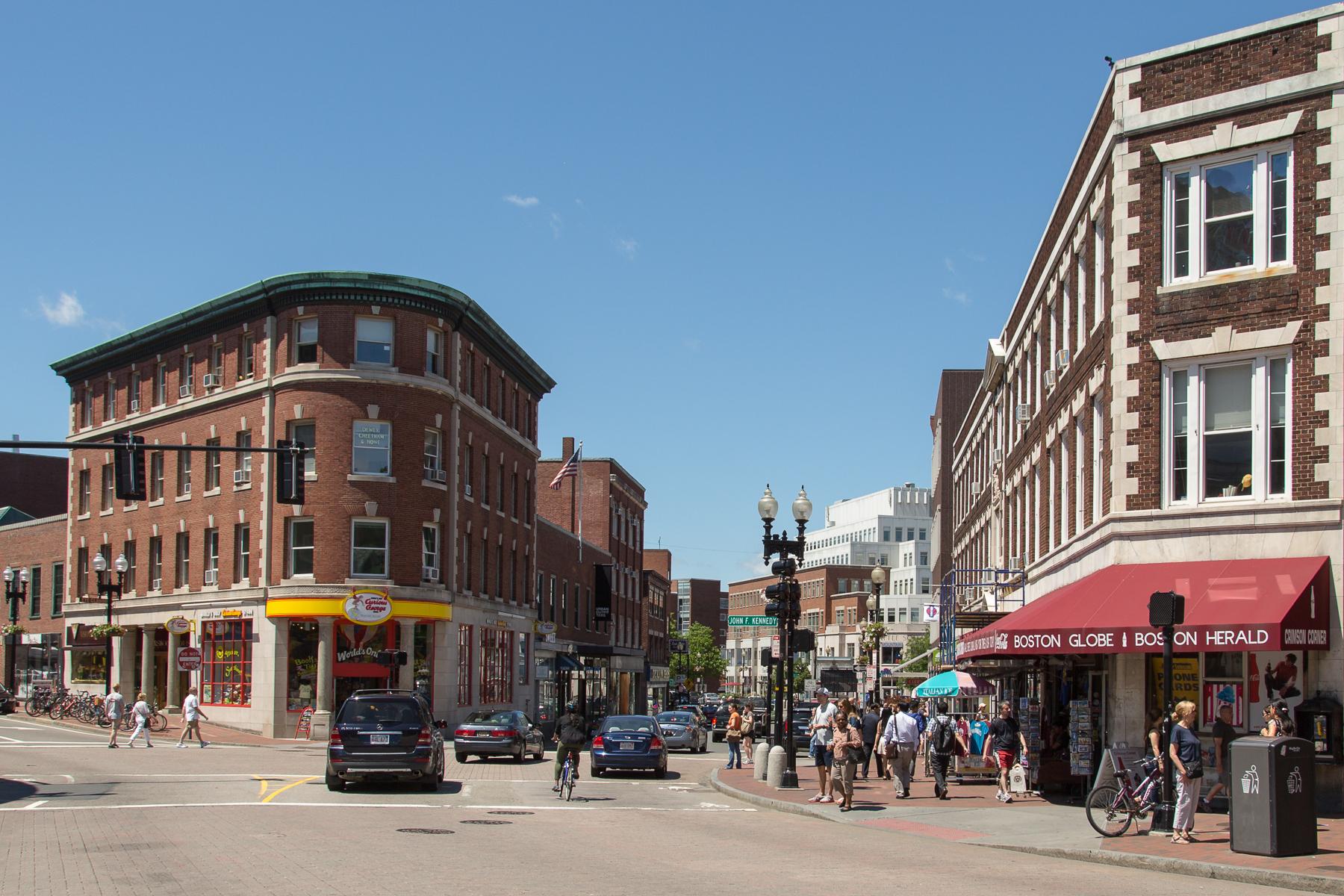 Harvard Square, June 2013.