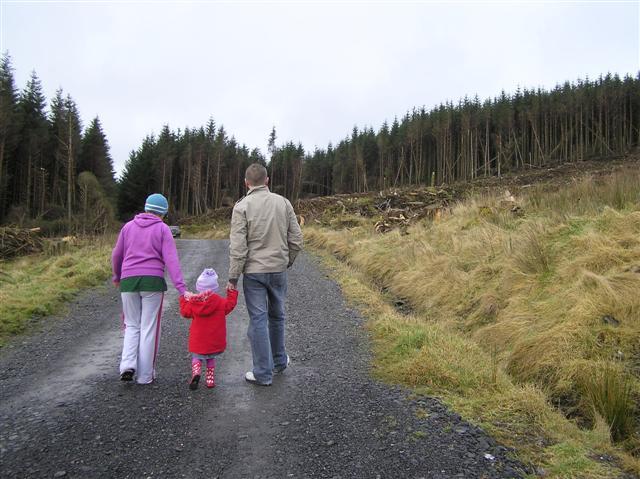 Heading towards Cashty Wood align=