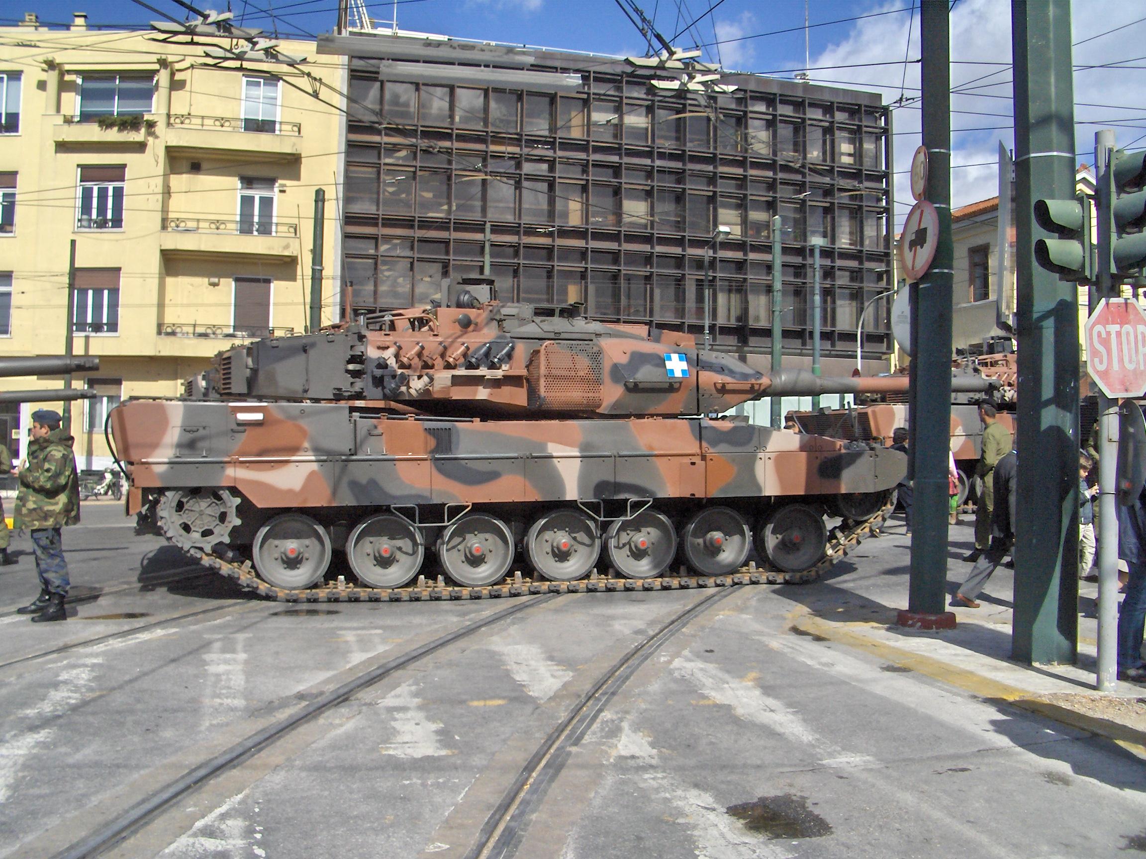 Description hellenic army leo2a6hel 7231
