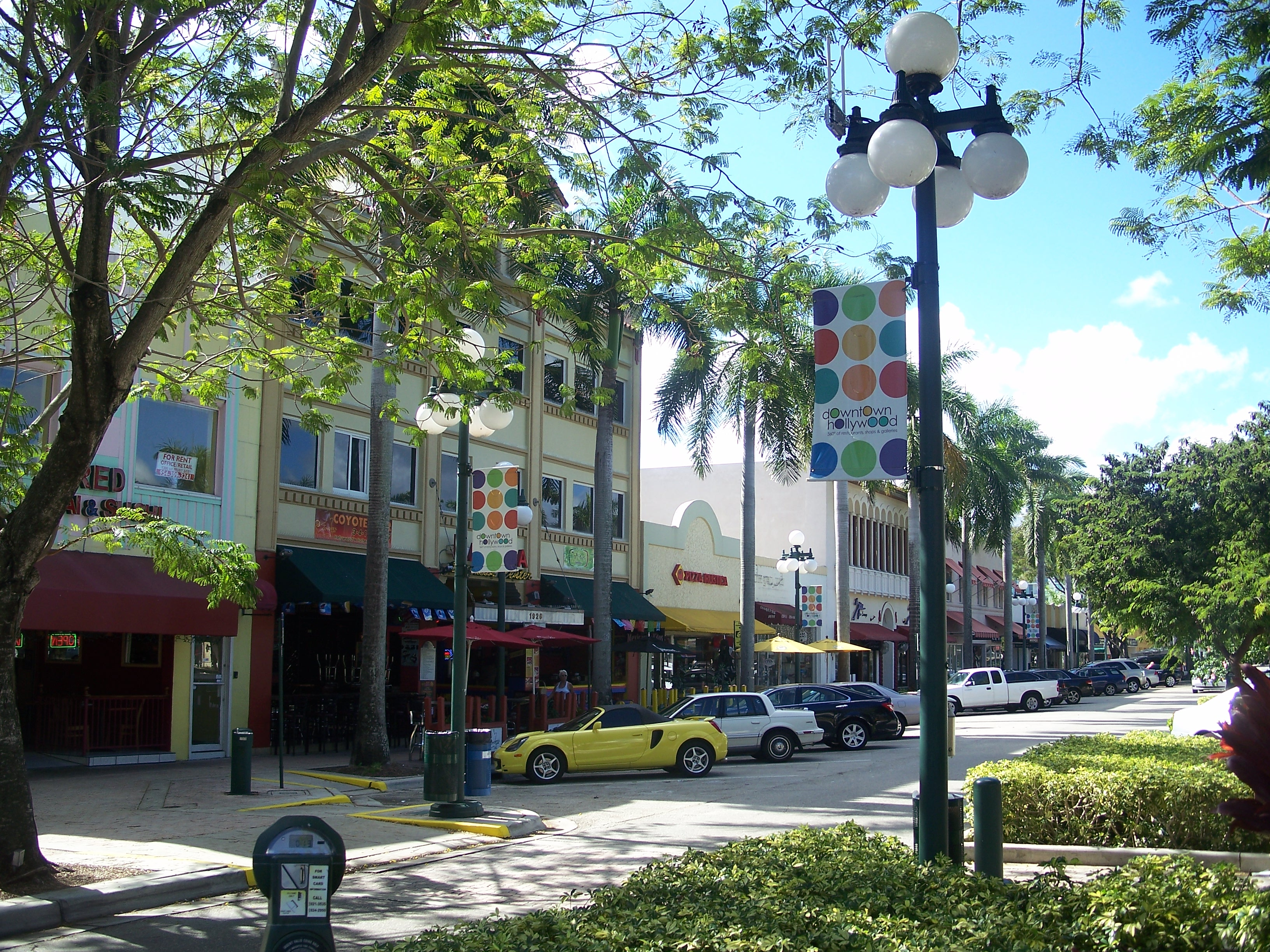 Hollywood Beach Gardens Florida