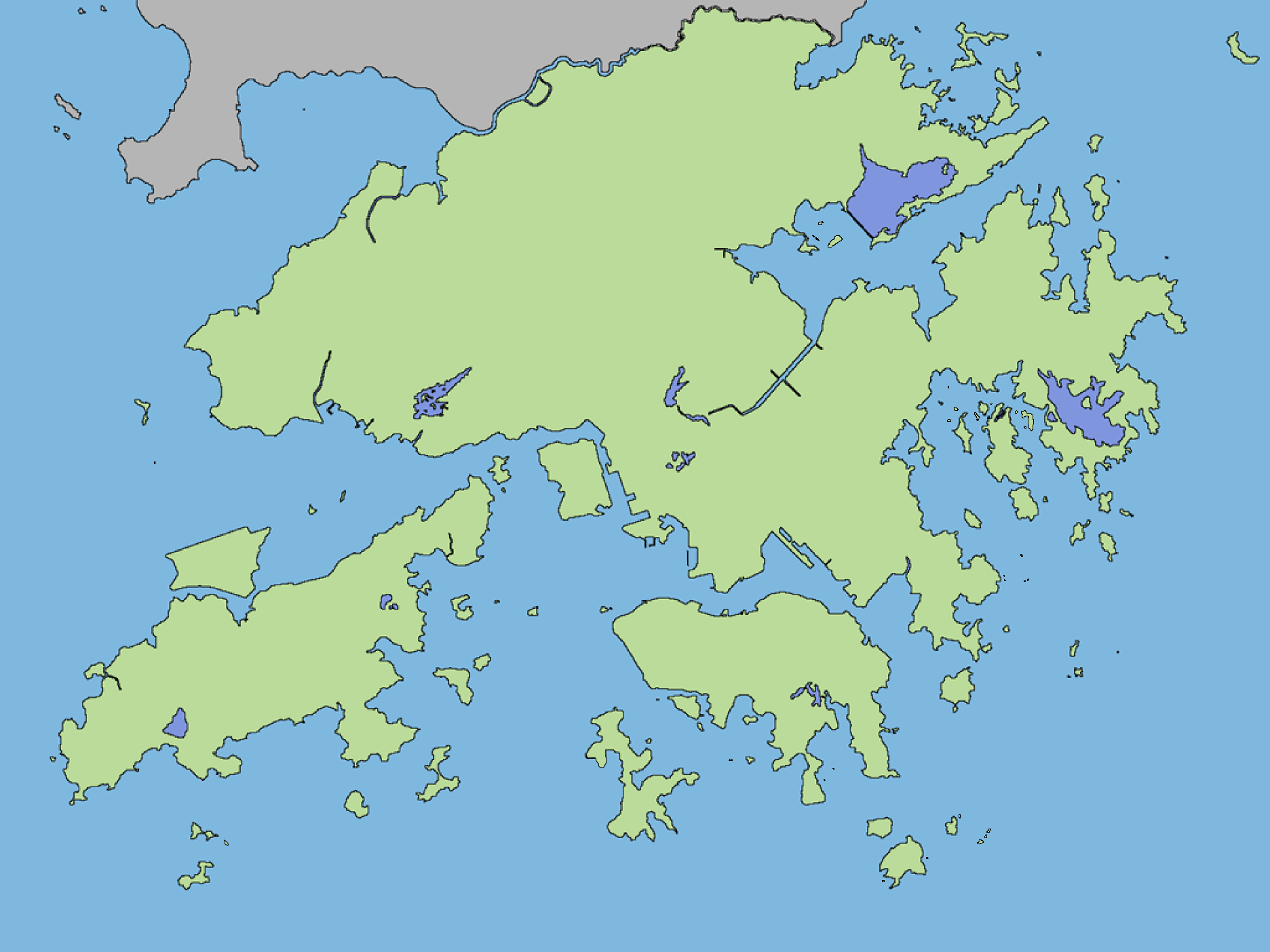 Hong Kong Map | Maps