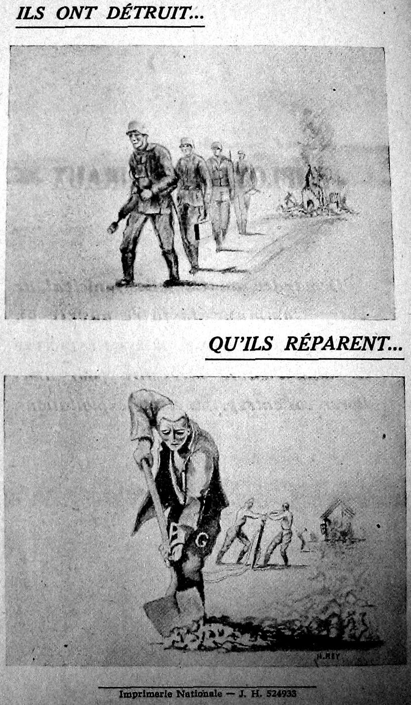 prisonniers de guerre allemands de la seconde guerre