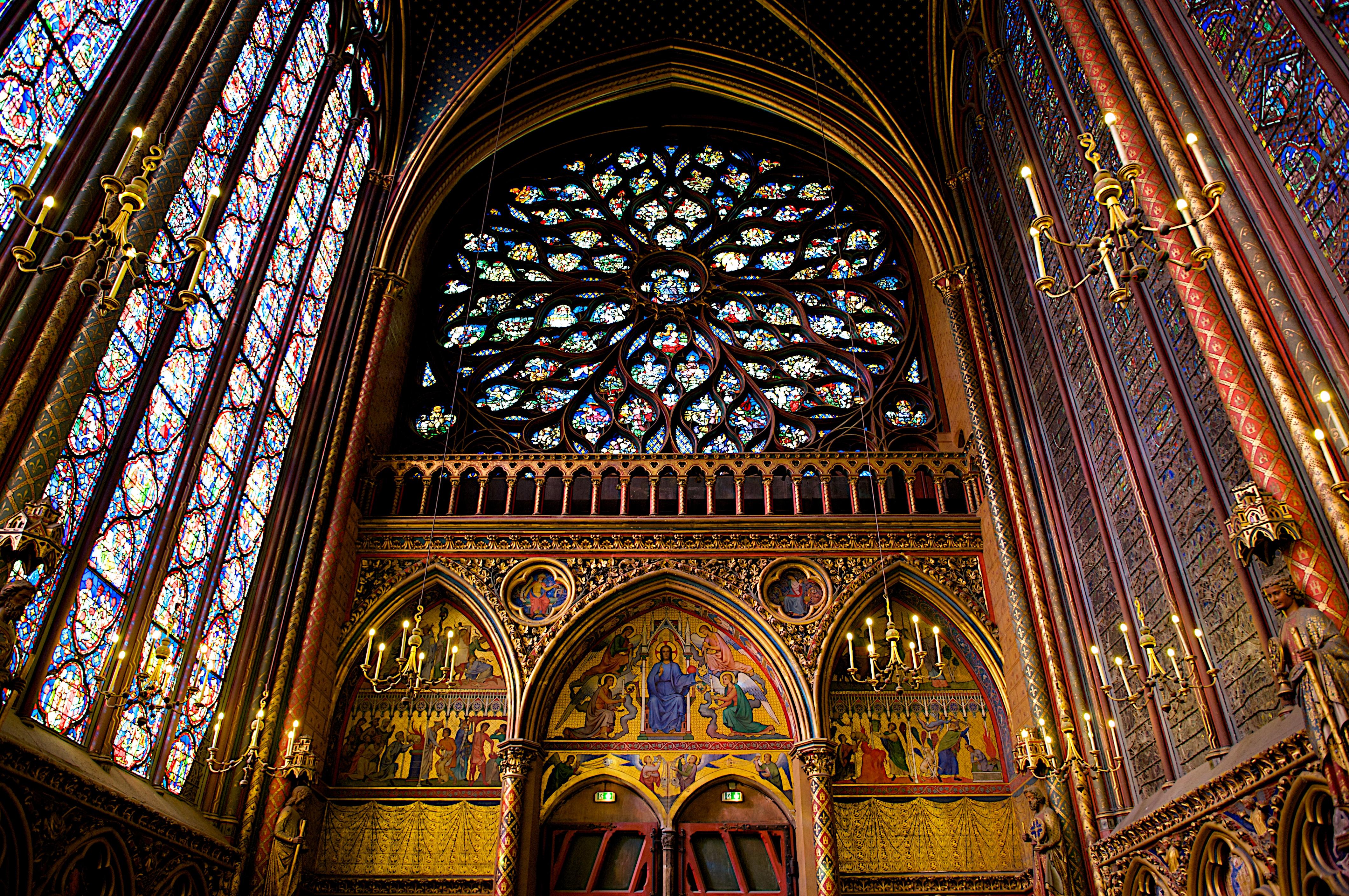 FileInterior Of Sainte Chapelle Paris October 31 2009