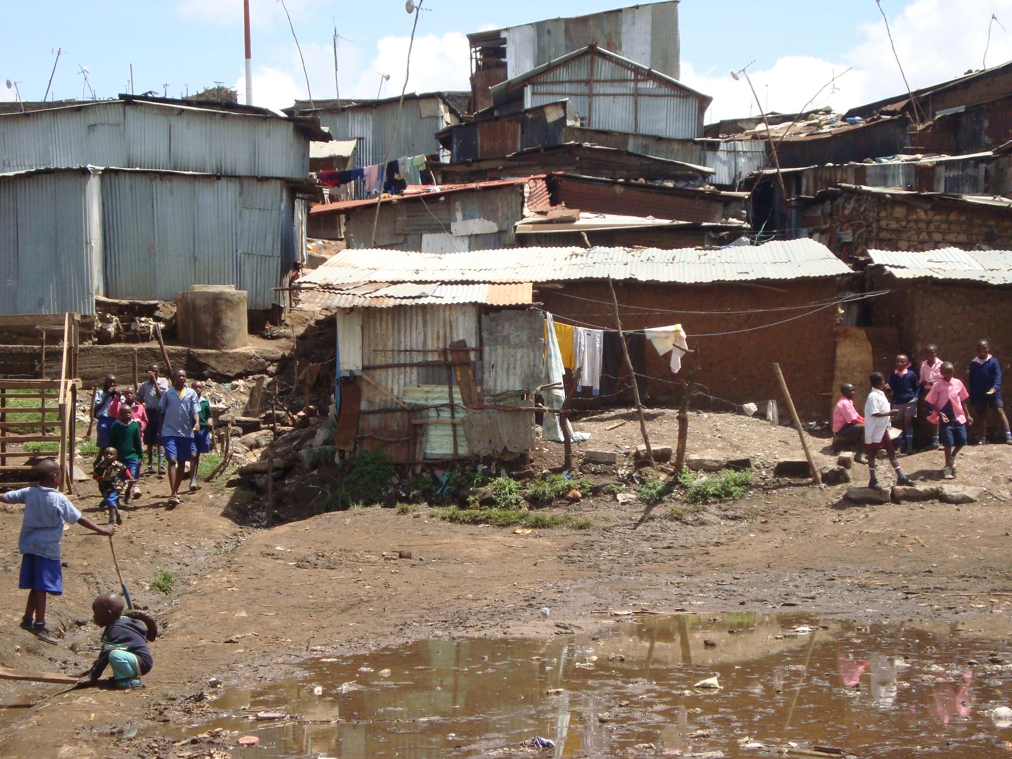 африканские трущобы