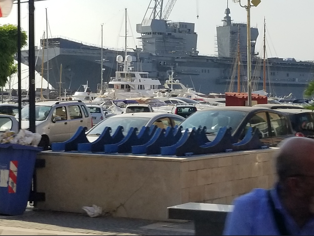Italian landing helicopter dock Trieste - Wikipedia