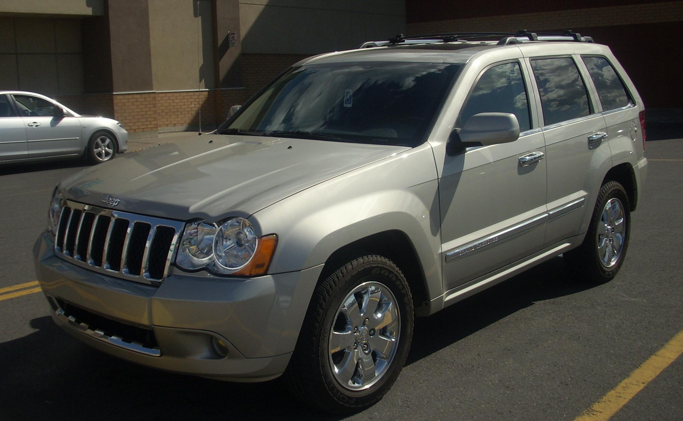 file jeep grand cherokee 2008 jpg wikimedia commons. Cars Review. Best American Auto & Cars Review