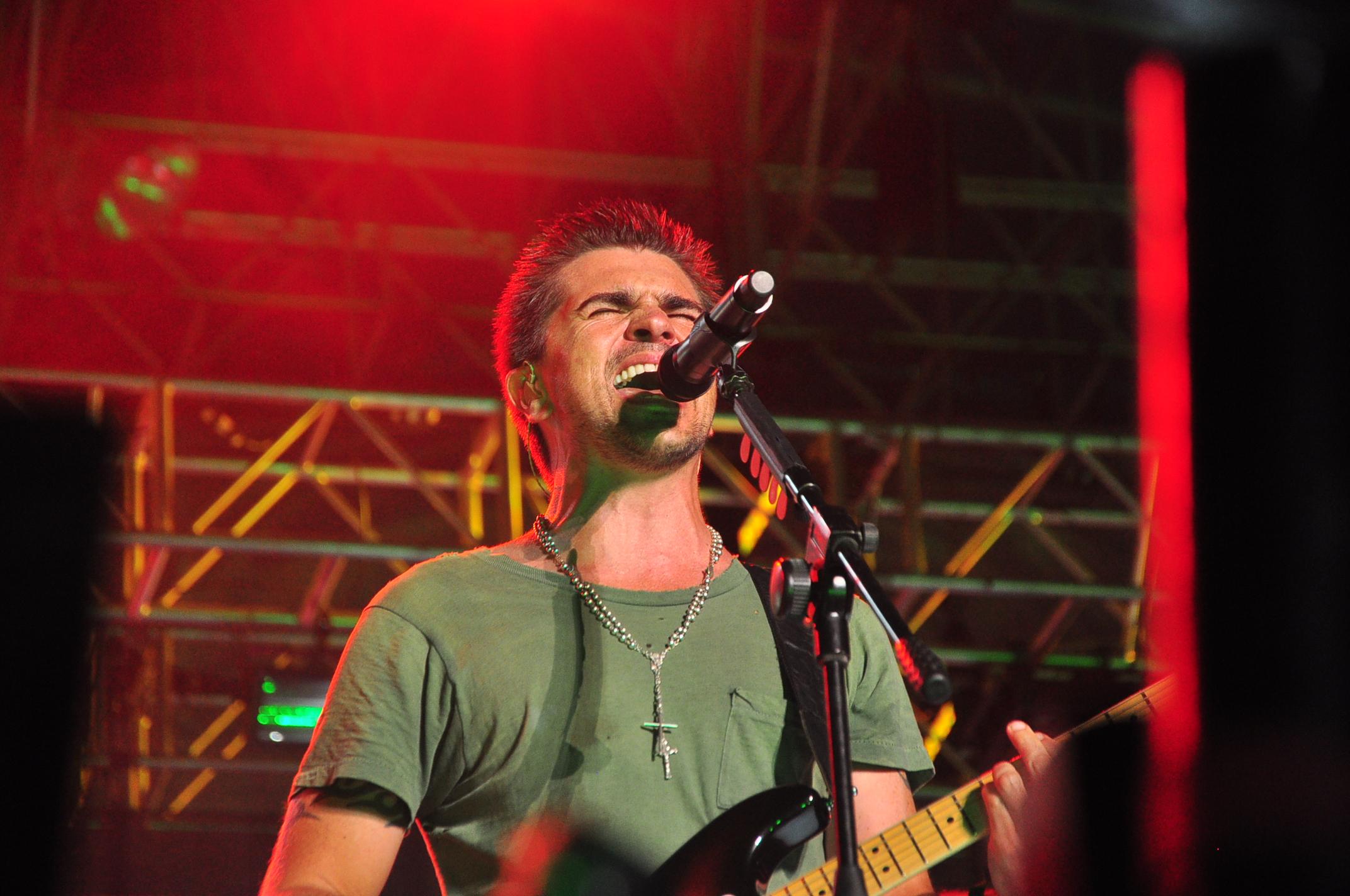 Juanes en Festival de Música Latina, Santo Domingo 2010.