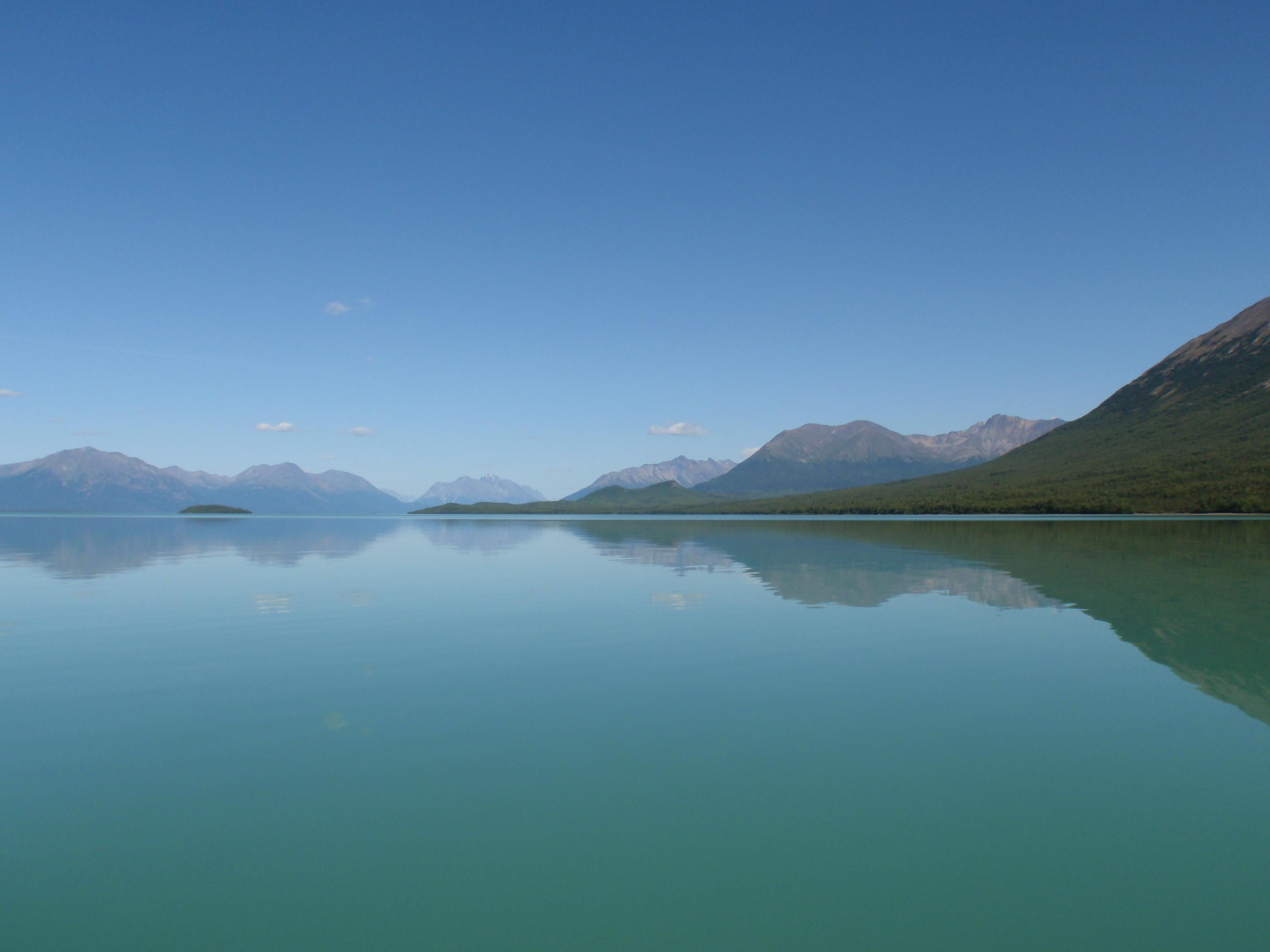 Parque nacional y reserva del lago Clark. Alaska.