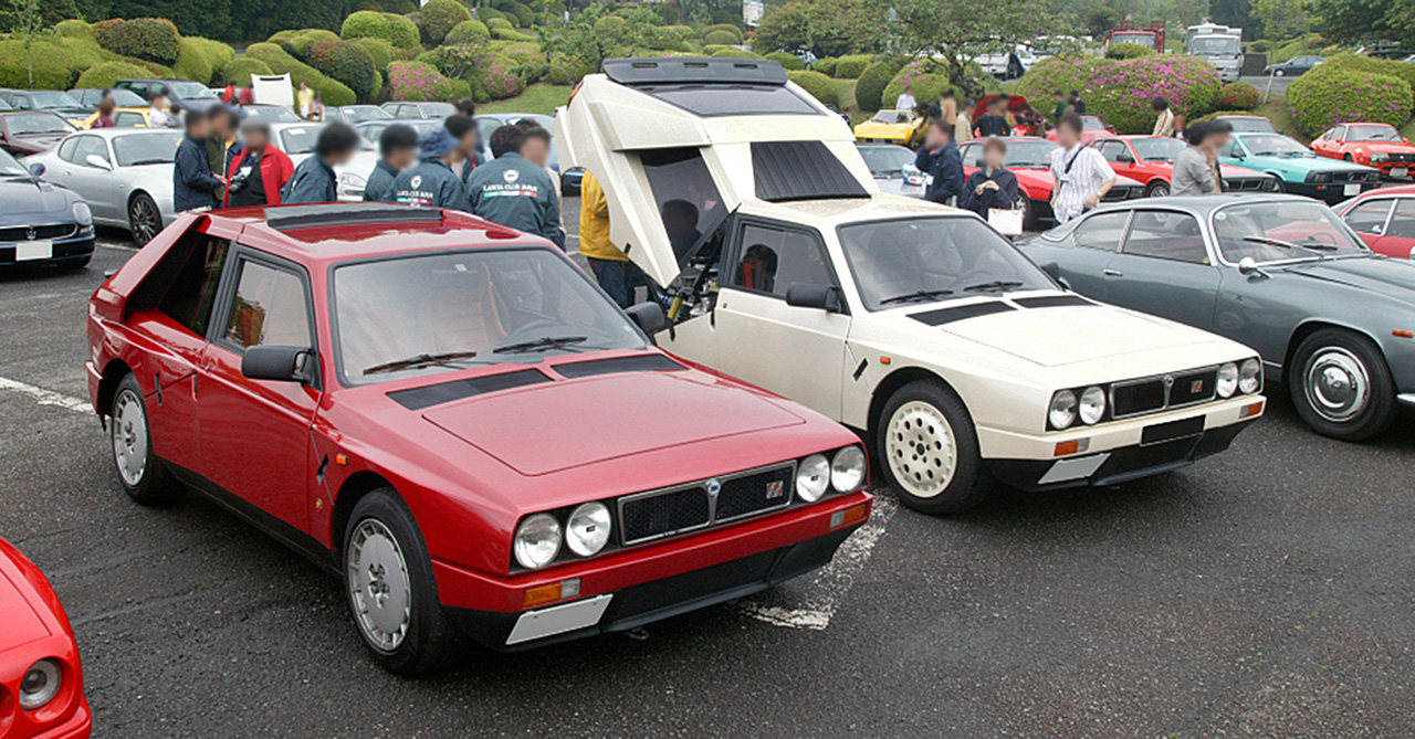 The New Cars Zone: 1983 Lancia Delta 1.6 HF Turbo gallery