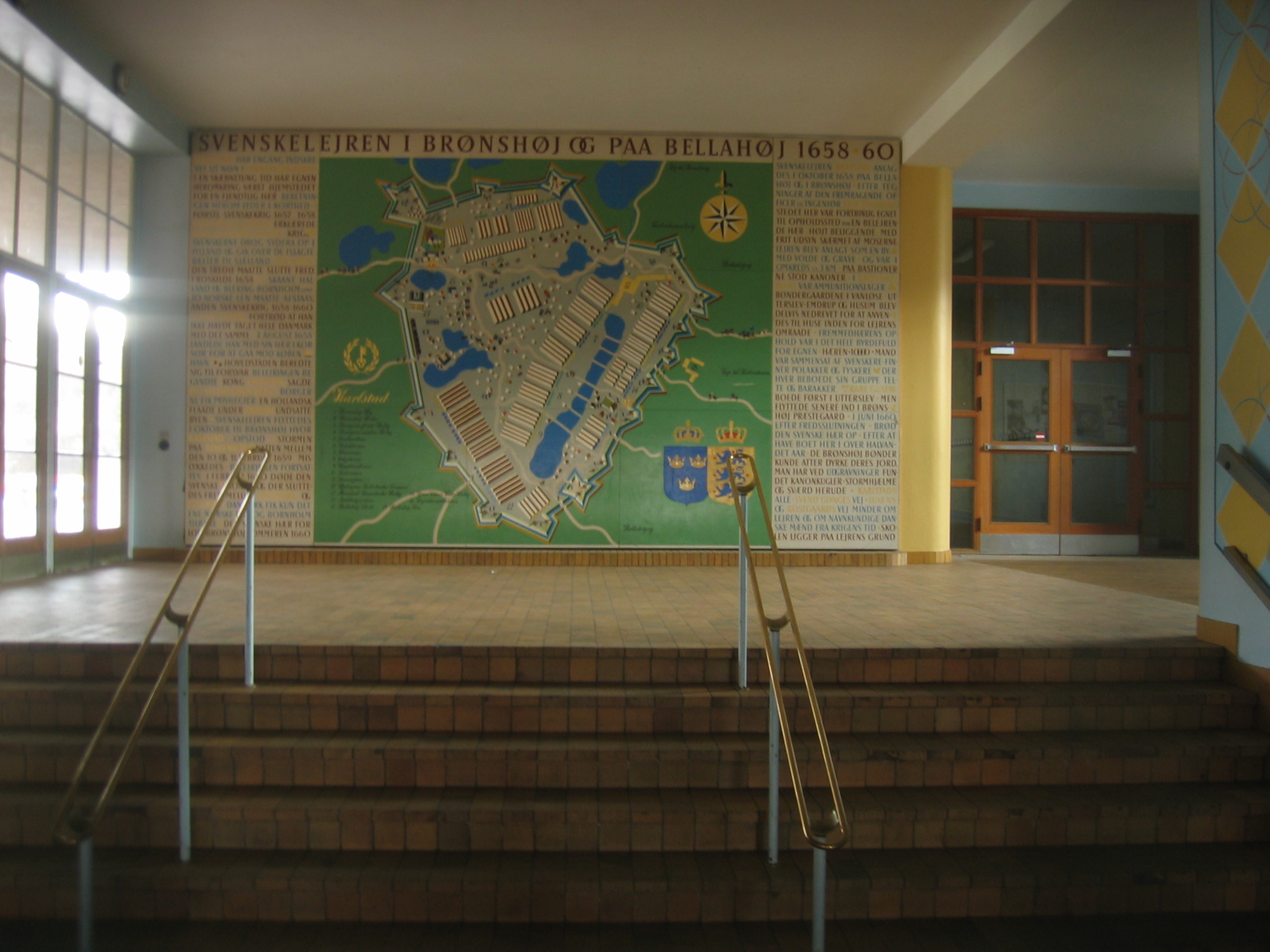 Beskrivelse maleri bellahøj skole 09-04-06