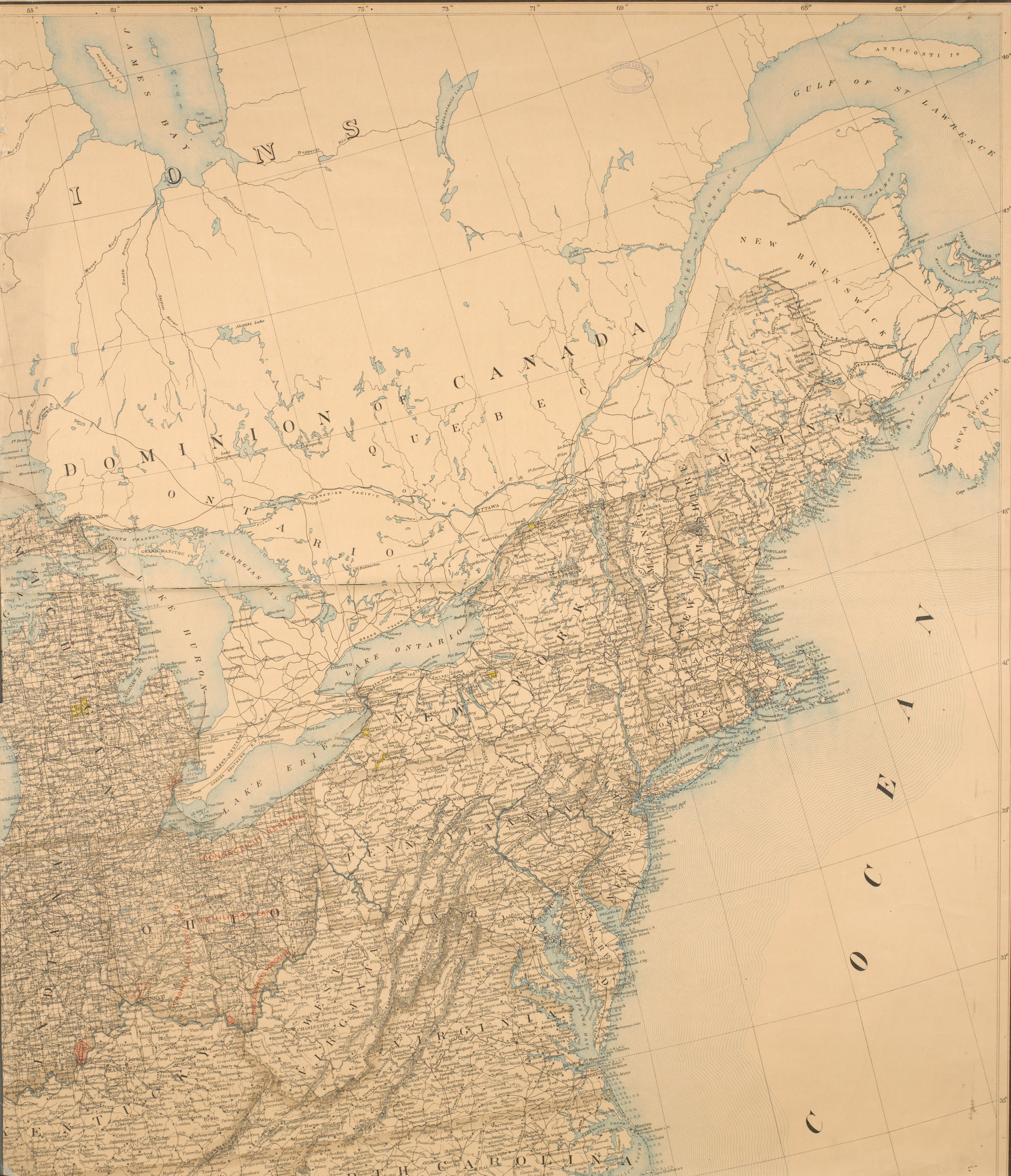 File:Map of the U. S. and Territories…North East (NYPL b18036847 ...