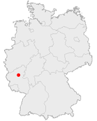 Position of Burg Bischofstein