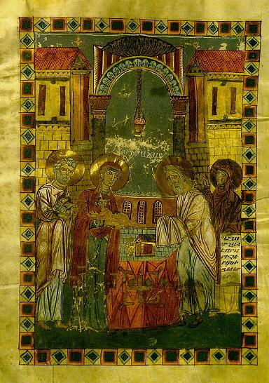 An Armenian miniature illustrating the subject (Mugni Gospels, ca. 1060). Mugni.jpg