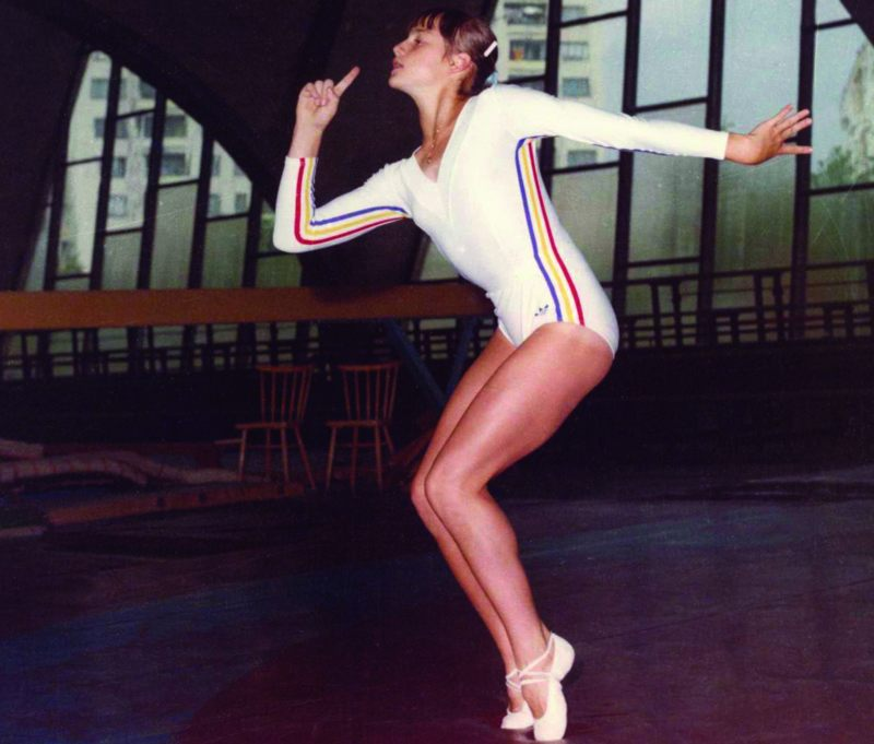 Ginasta Olímpica Nadia Comaneci