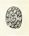 Scarab of Nehesy, now in the Petrie Museum. NehesyScarabPetrie.png