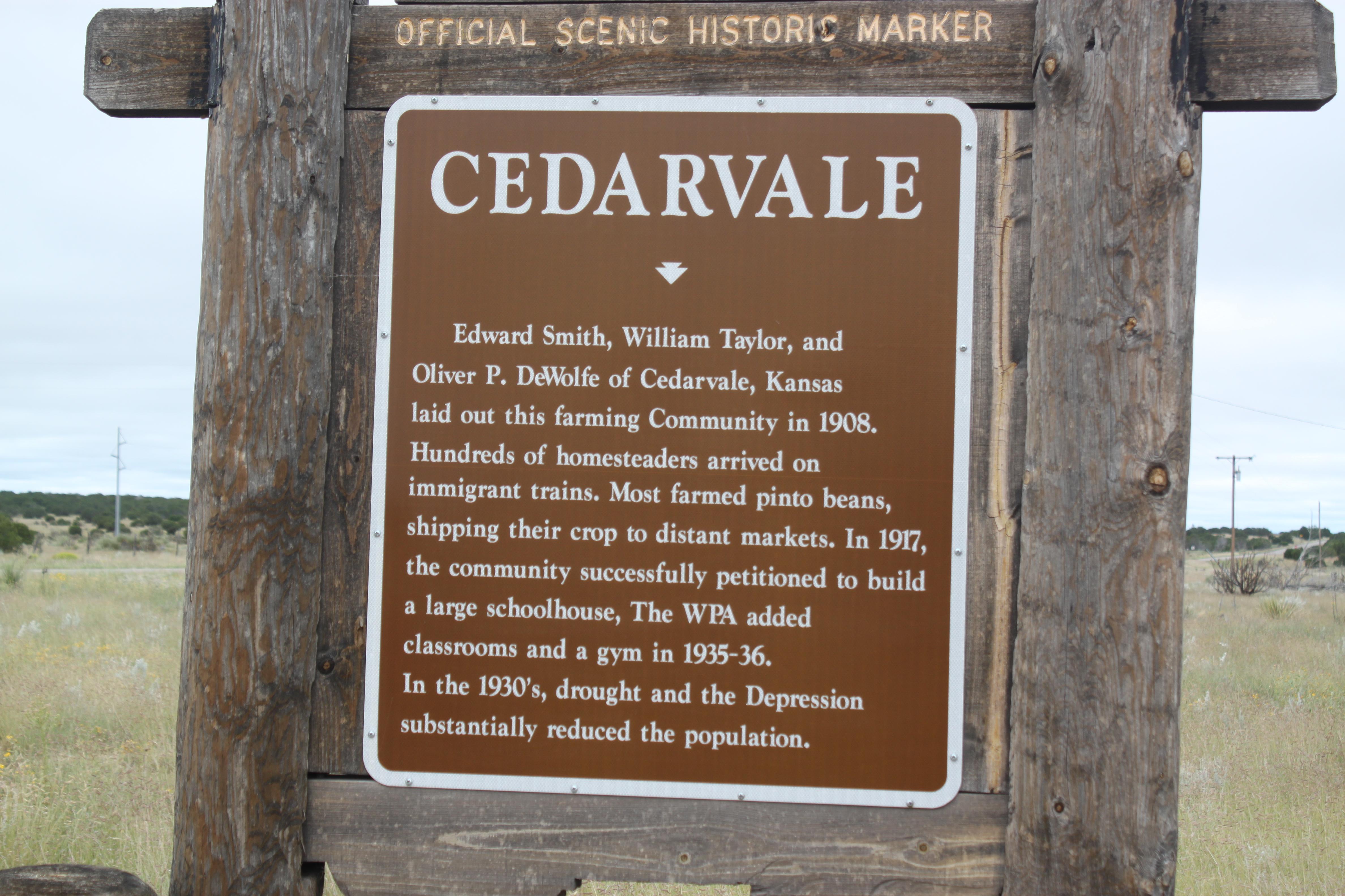 Cedarvale nm