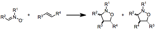 Nitrone olefin cycloaddition