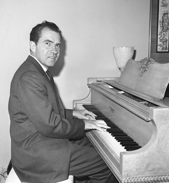Image result for richard nixon piano