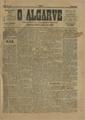 O Algarve, nº 1, 29 de Março de 1908, 1ª página.jpg