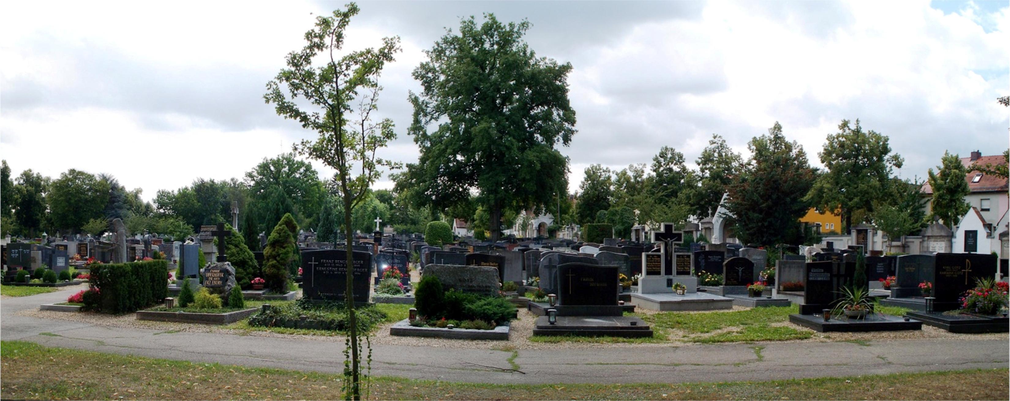 Oberer Katholischer Friedhof Regensburg