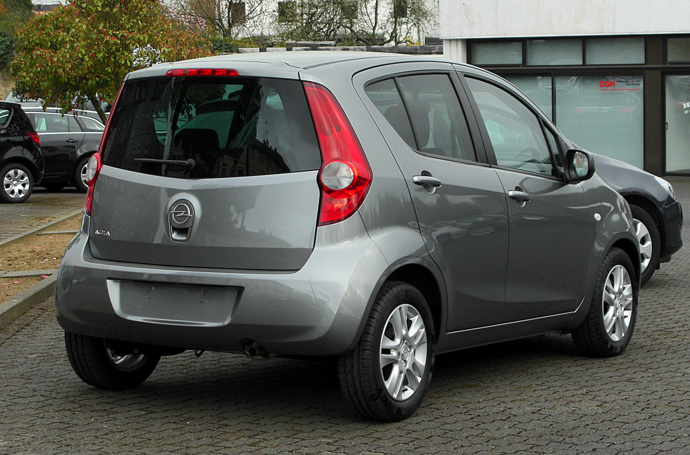 file opel agila 1 2 ecoflex edition b heckansicht 7 april 2011 wikipedia. Black Bedroom Furniture Sets. Home Design Ideas