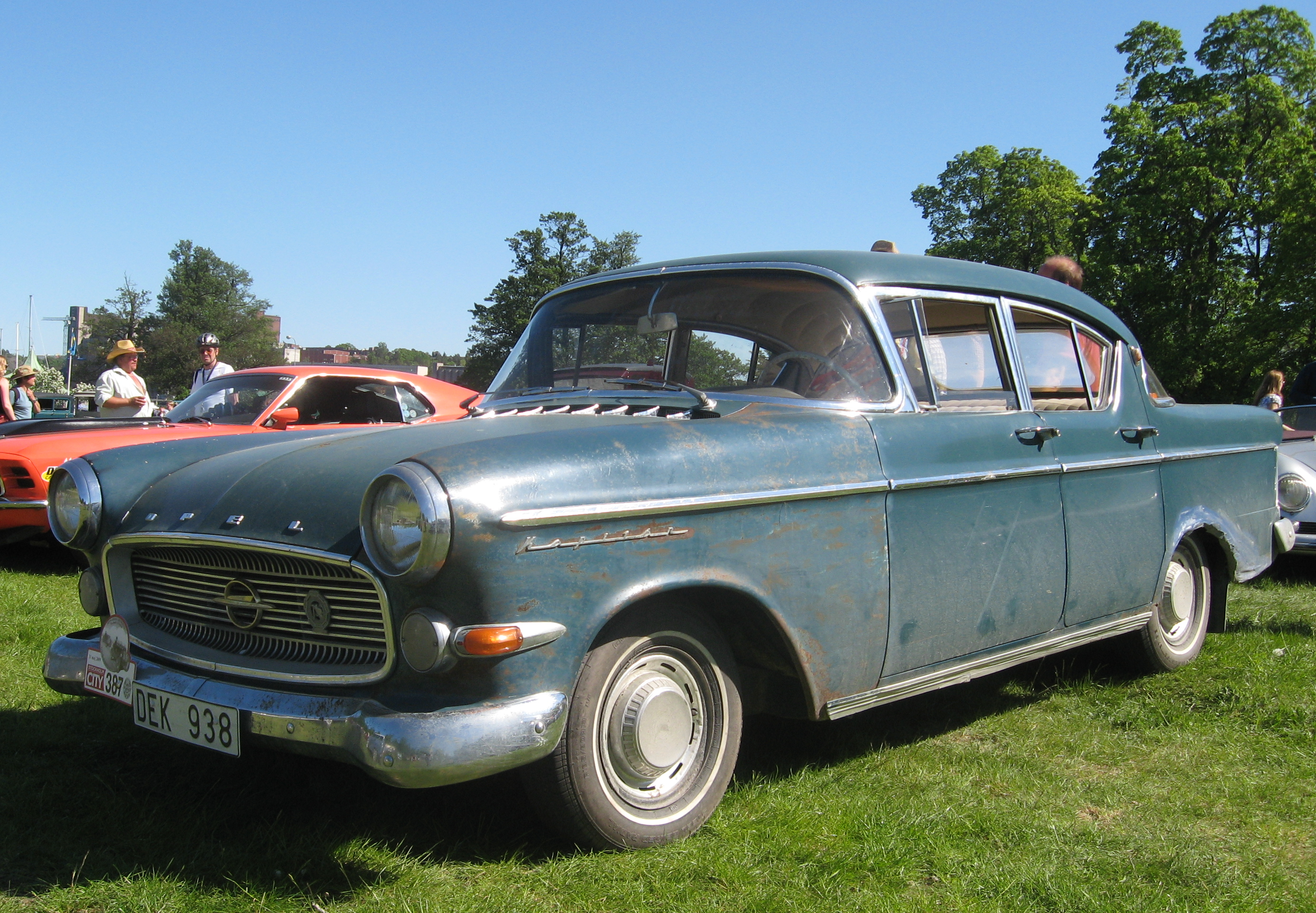 File Opel Kapitan 1959 Jpg Wikimedia Commons
