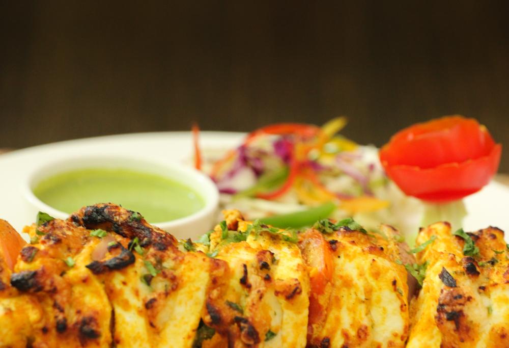 Yummy Paneer tikka in Indian restaurants in Hua Hin