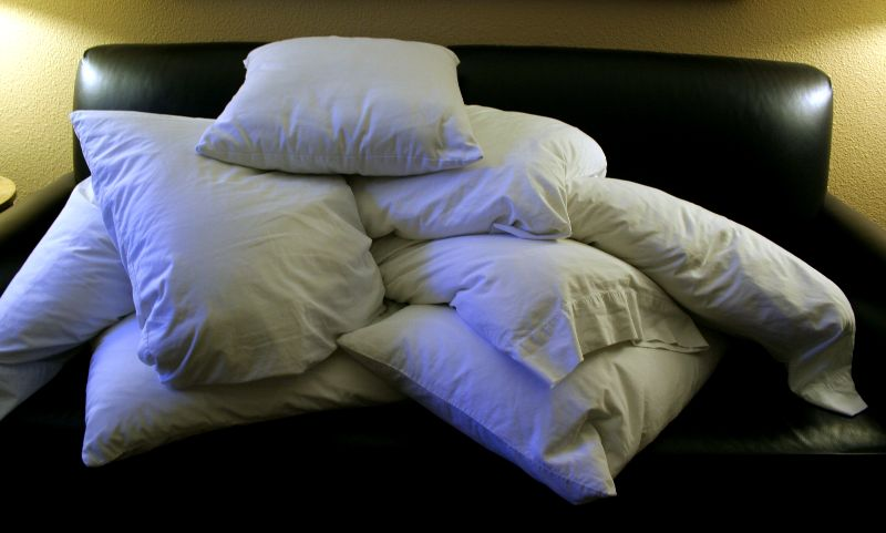 Ideas For Old Pillows: Pillow Talk  7 Ways To Reuse Your Old Pillows   Life The Green Way,