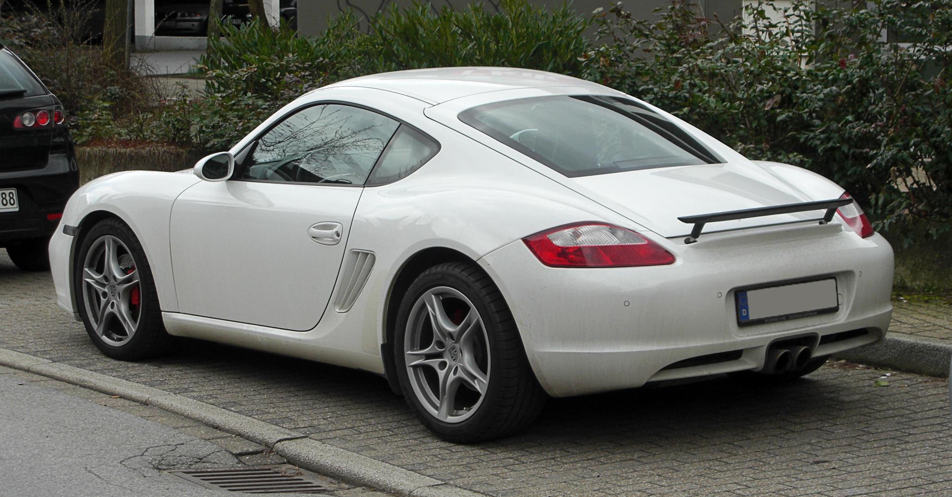 File:Porsche Cayman S (987C) – Heckansicht, 13. März 2011, Wülfrath ...
